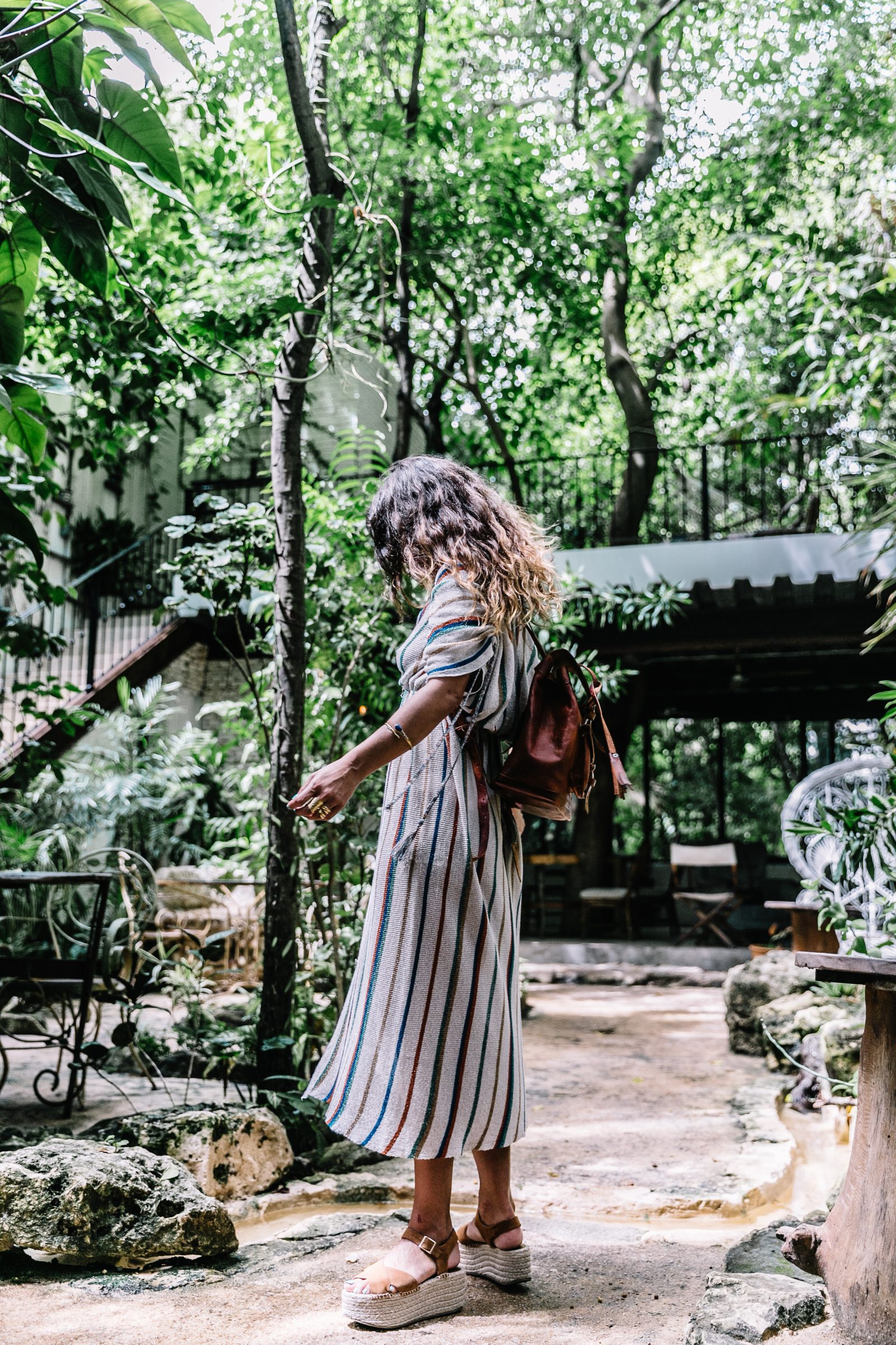 stripped_dress-leather_backpack-suede_espadrilles-mayan_ruins-hotel_esencia-sanara_tulum-beach-mexico-outfit-collage_vintage-6