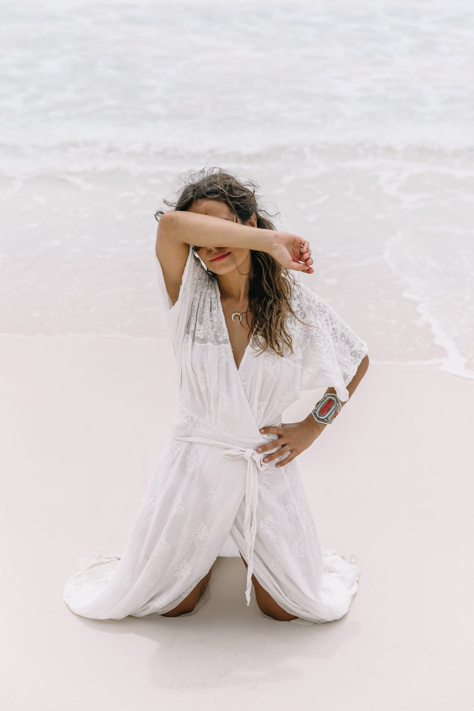 white_long_dress-boho_style-tulum_mexico-beach-floral_crown-outfit-collage_vintage-76