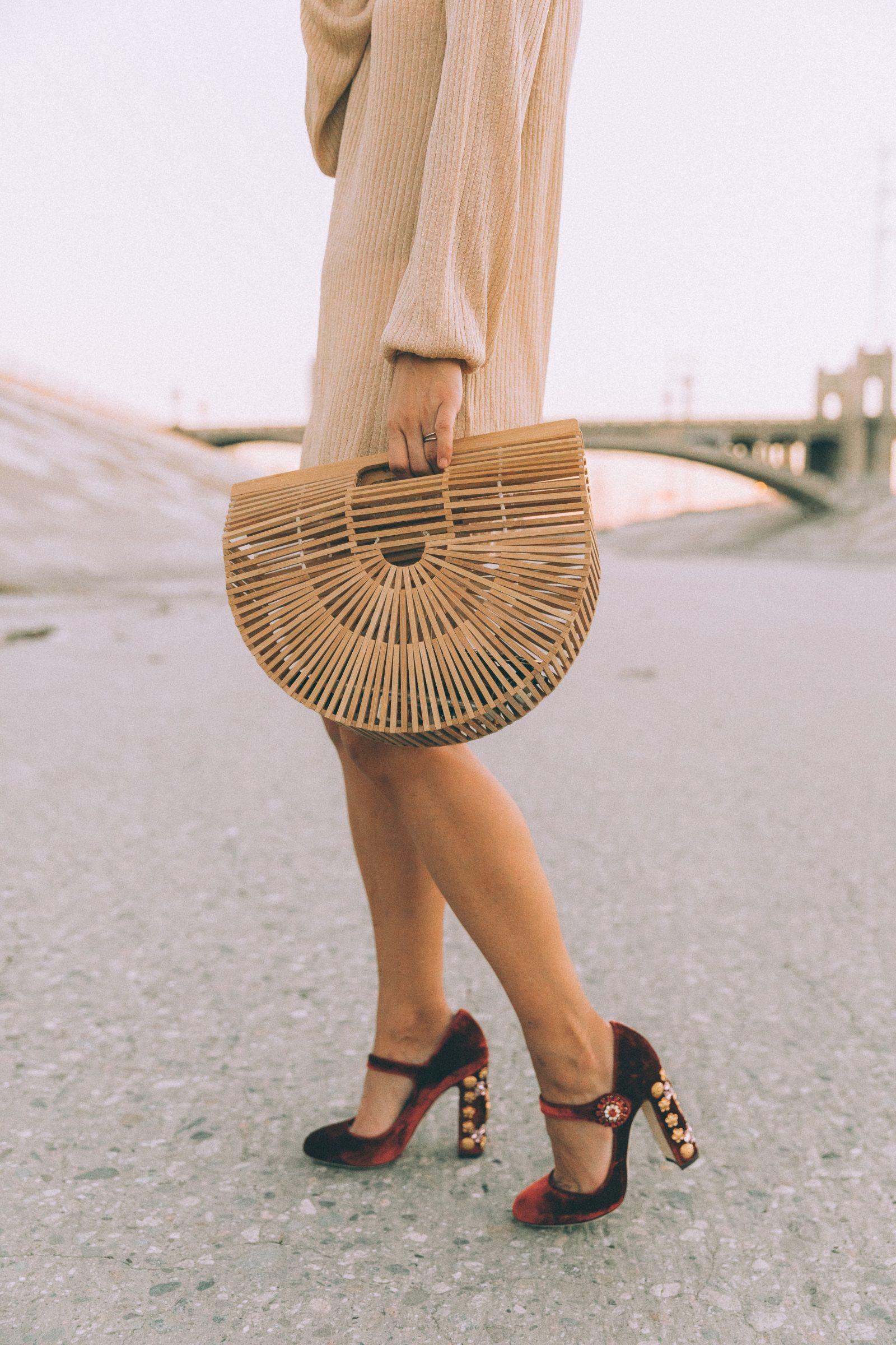 dolce_gabbana_shoes-mytheresa_dgxmytheresa-velvet_shoes-christmas_outfit-golden_little_dress-lpa-topknot-marni_maxi_earrings-cult_gaia-street_style-146