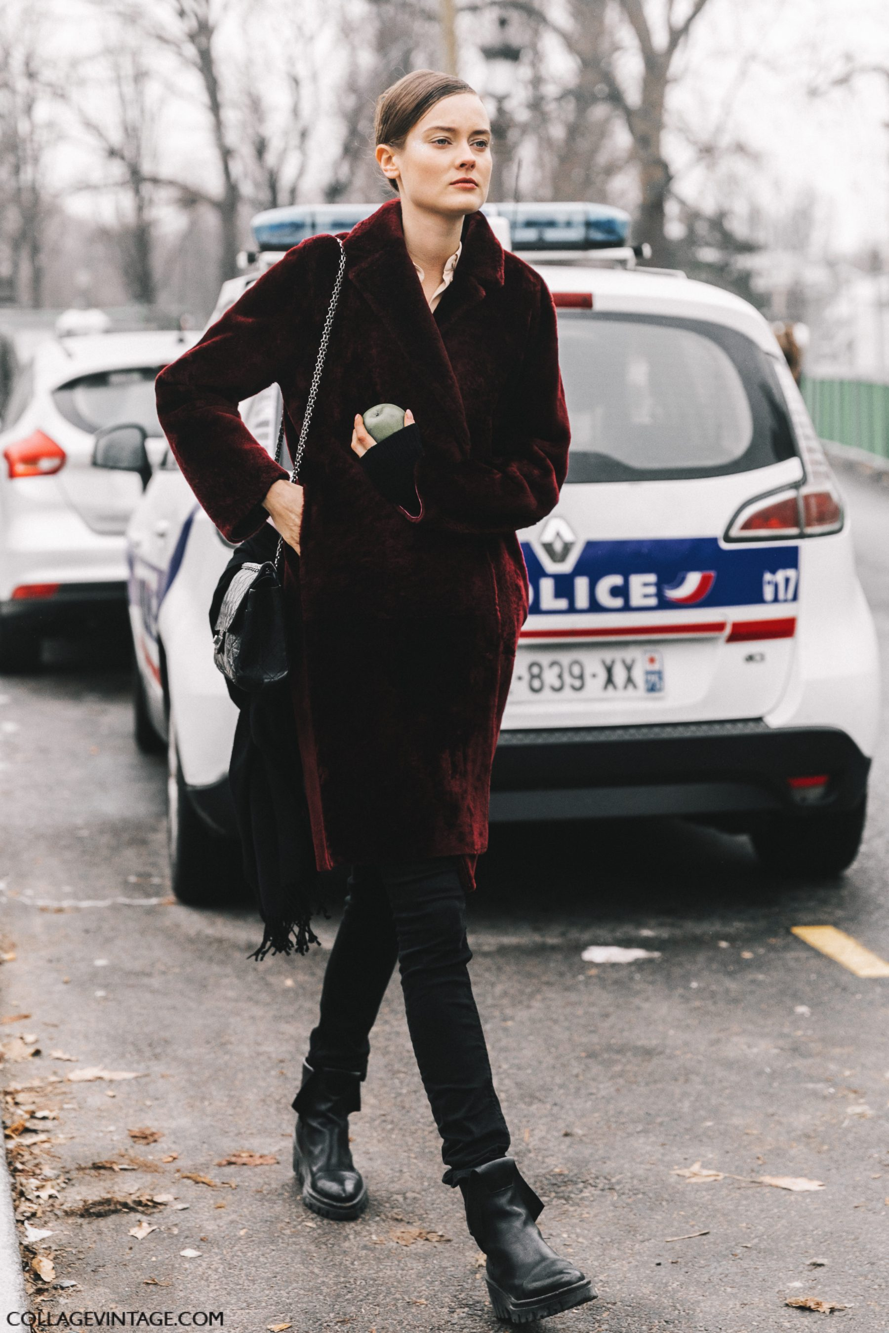 Street Style Paris Couture Ii Collage Vintage