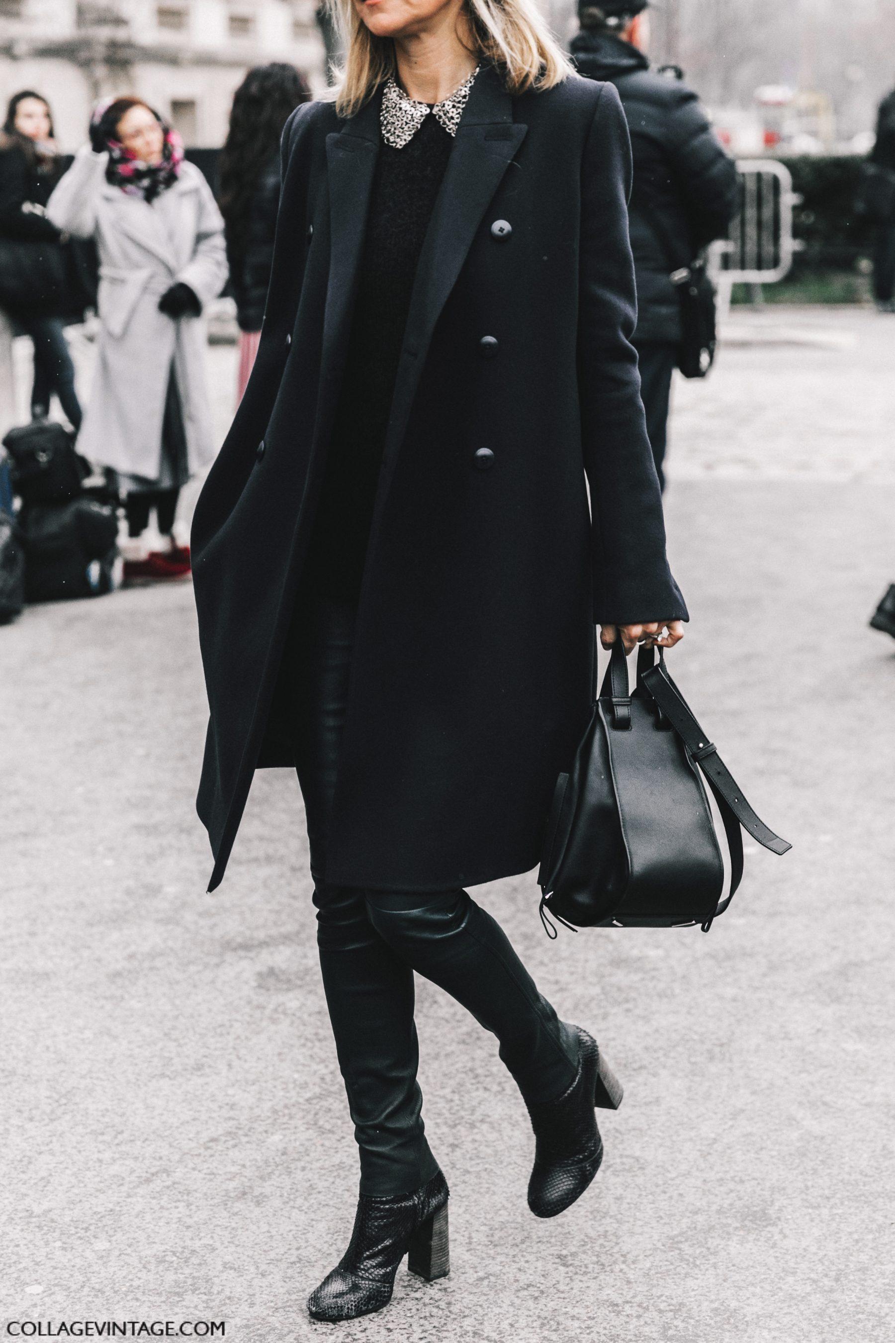Blackfashion Blog Facebook Puksies Wardrobe Tumblr: Street Style Paris Couture III