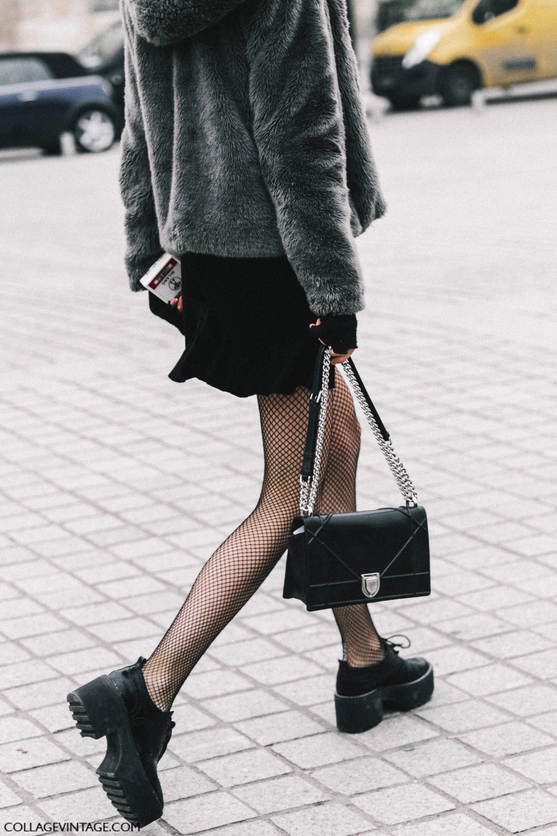 Blackfashion Blog Facebook Puksies Wardrobe Tumblr: Street Style Paris Haute Couture