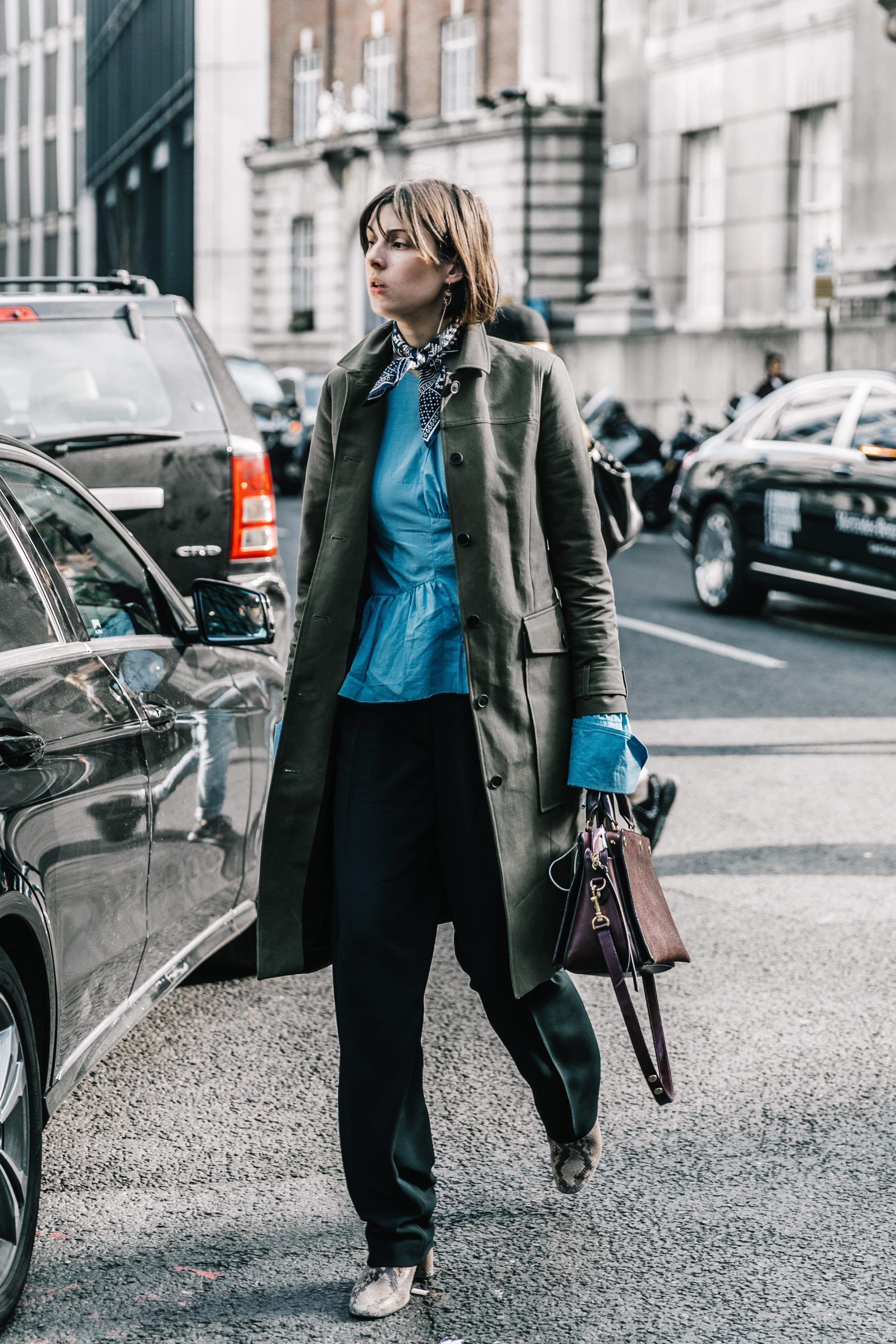 Street Style At London Fashion Week With Anouk: LFW Street Style I