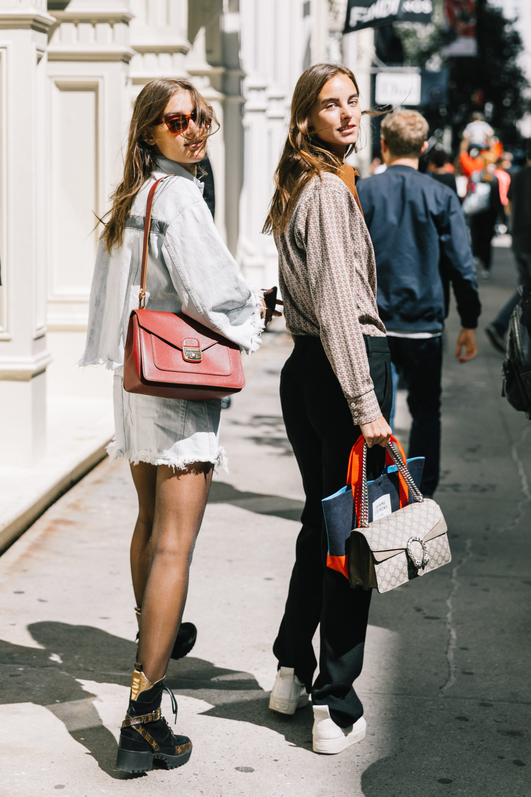Street Style At London Fashion Week With Anouk: NYFW SS18 Street Style I