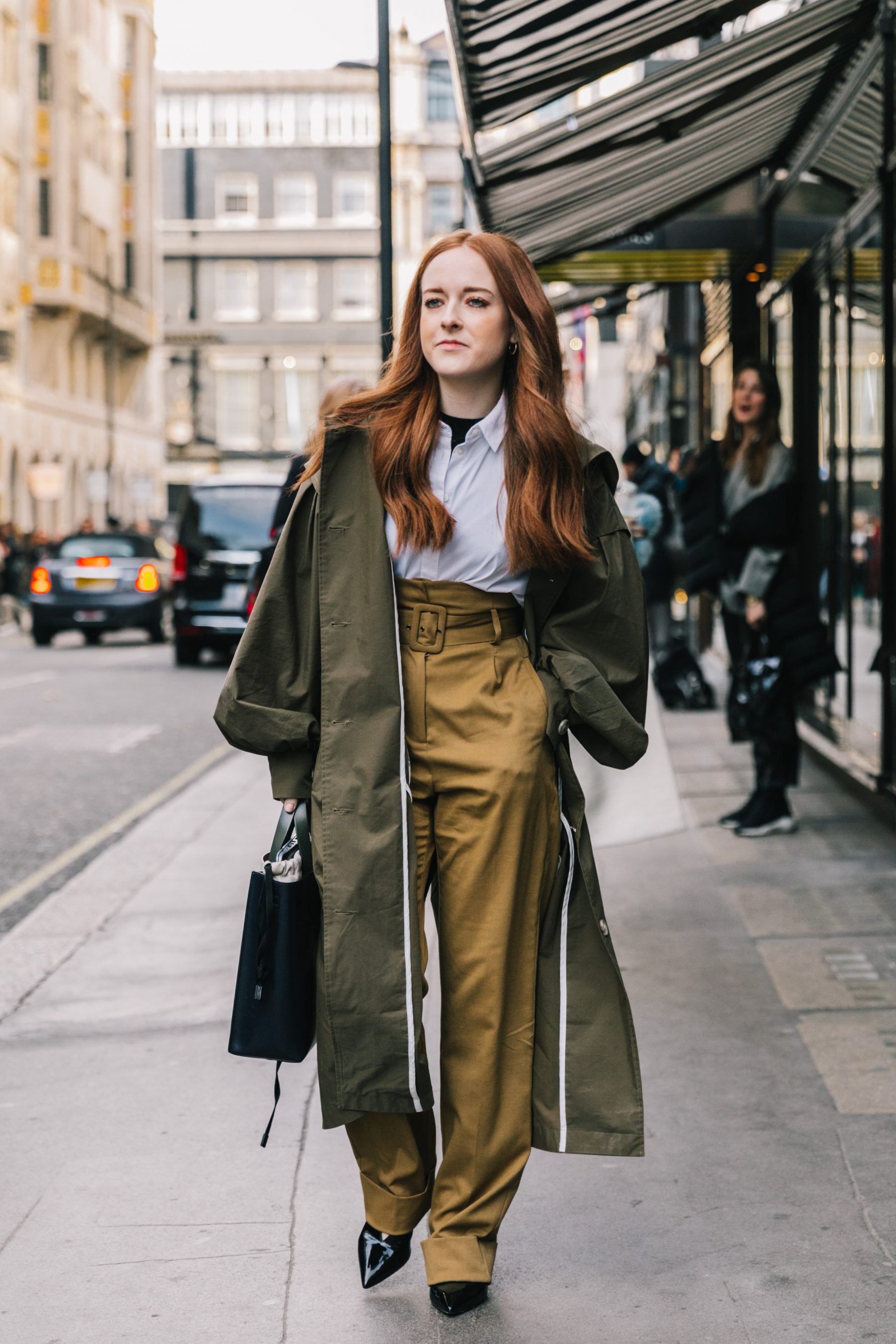 LFW FALL 18/19 STREET STYLE II | Collage Vintage