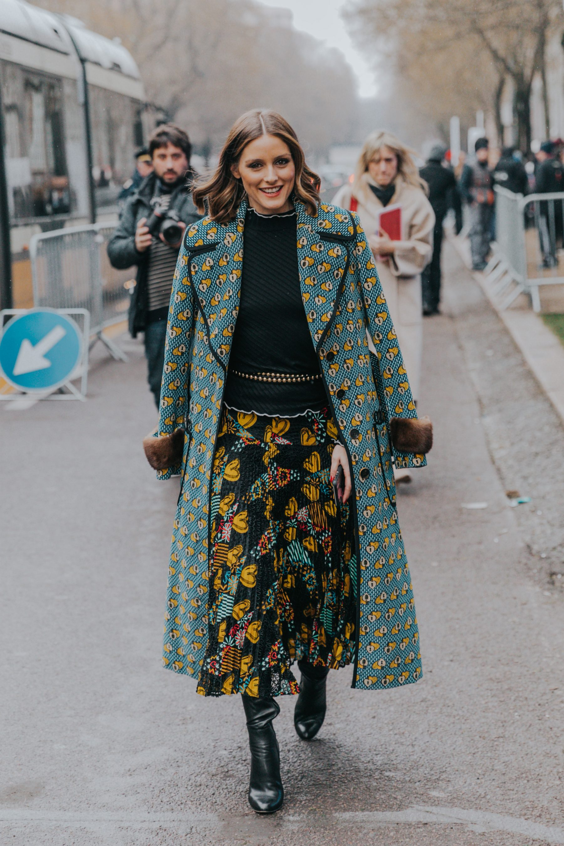 Milan Fall 18 19 Street Style Ii Collage Vintage