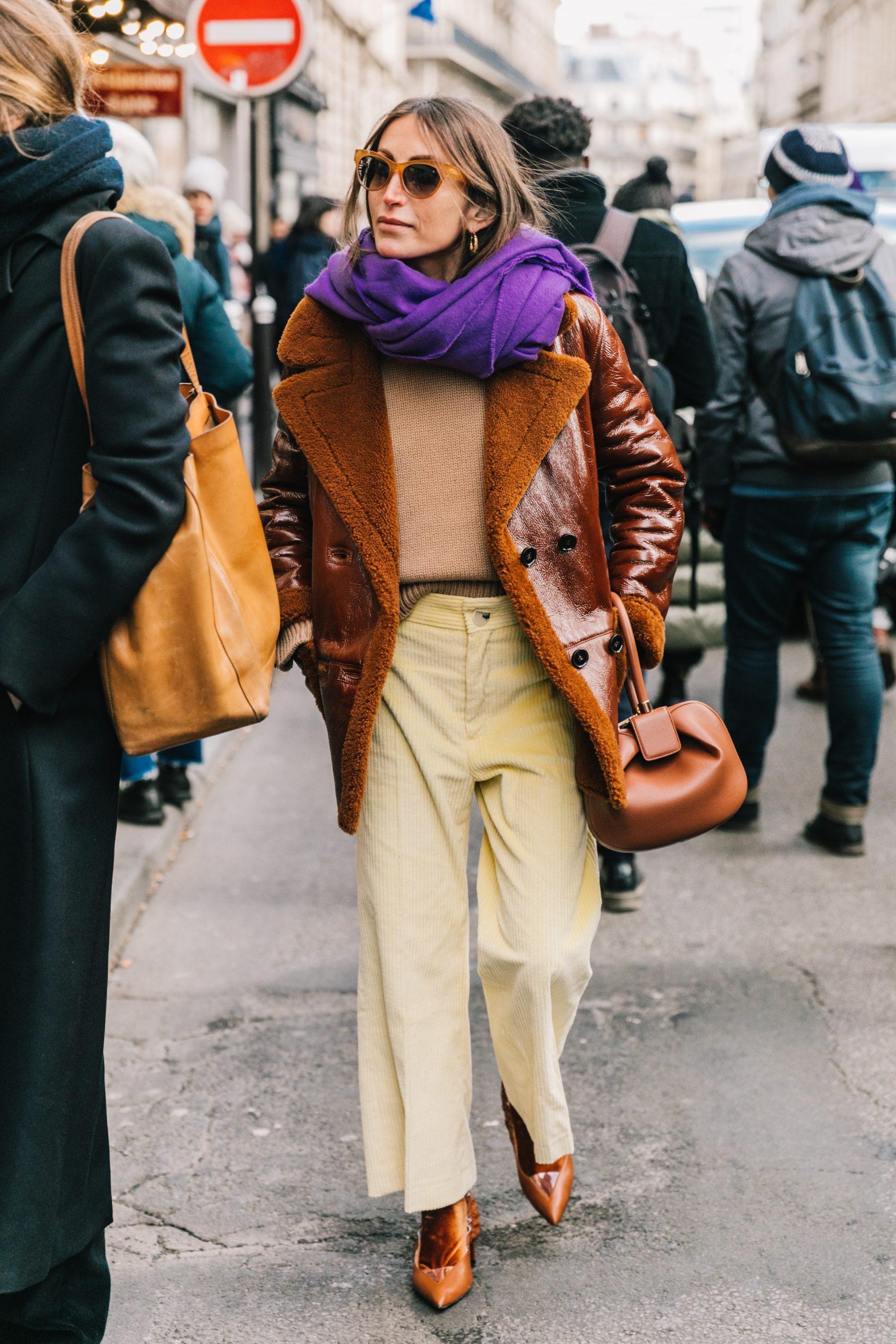 Paris Fall 18 19 Street Style I Collage Vintage