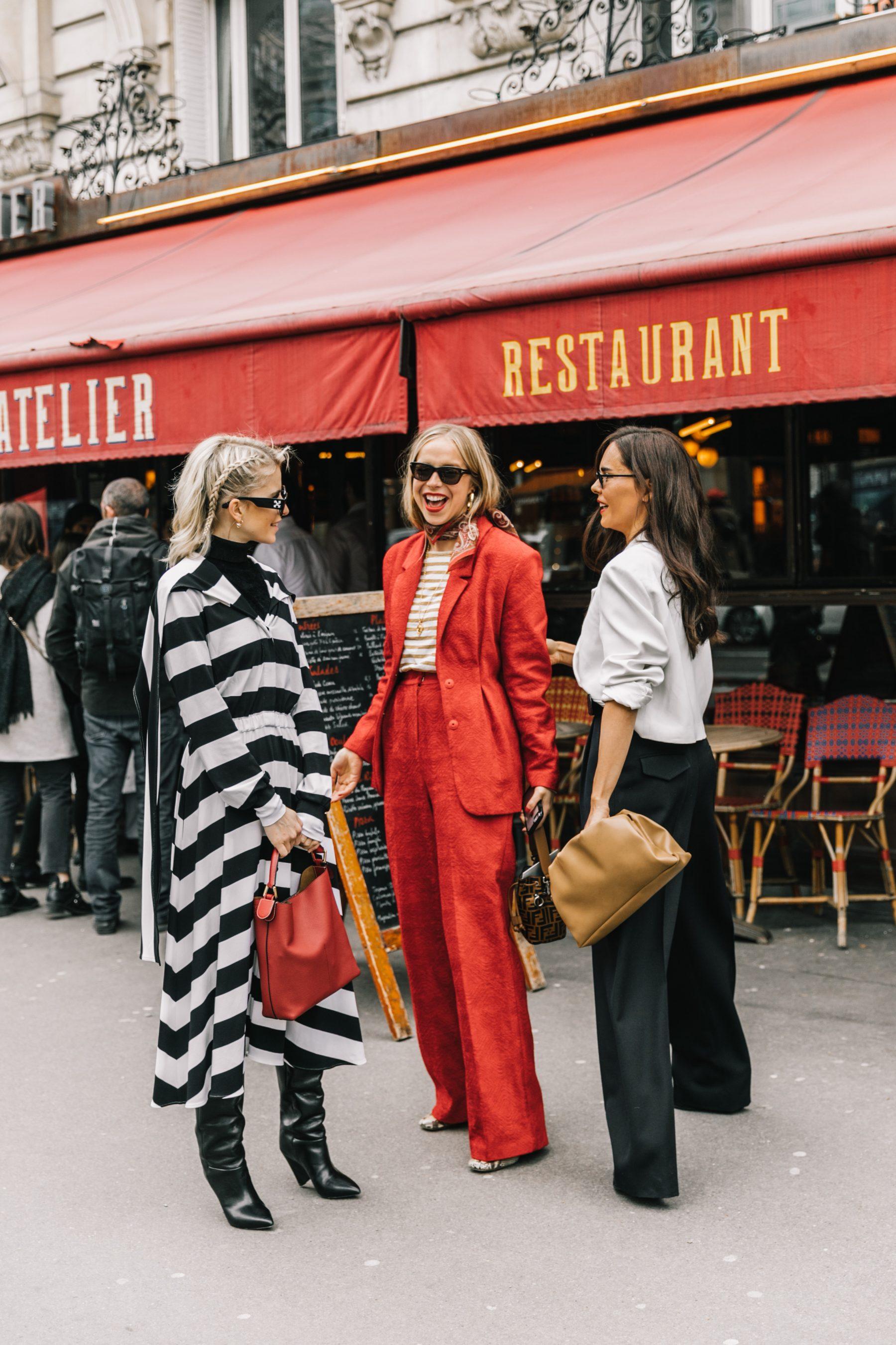 Paris Fashion Week Street Style by Collage Vintage