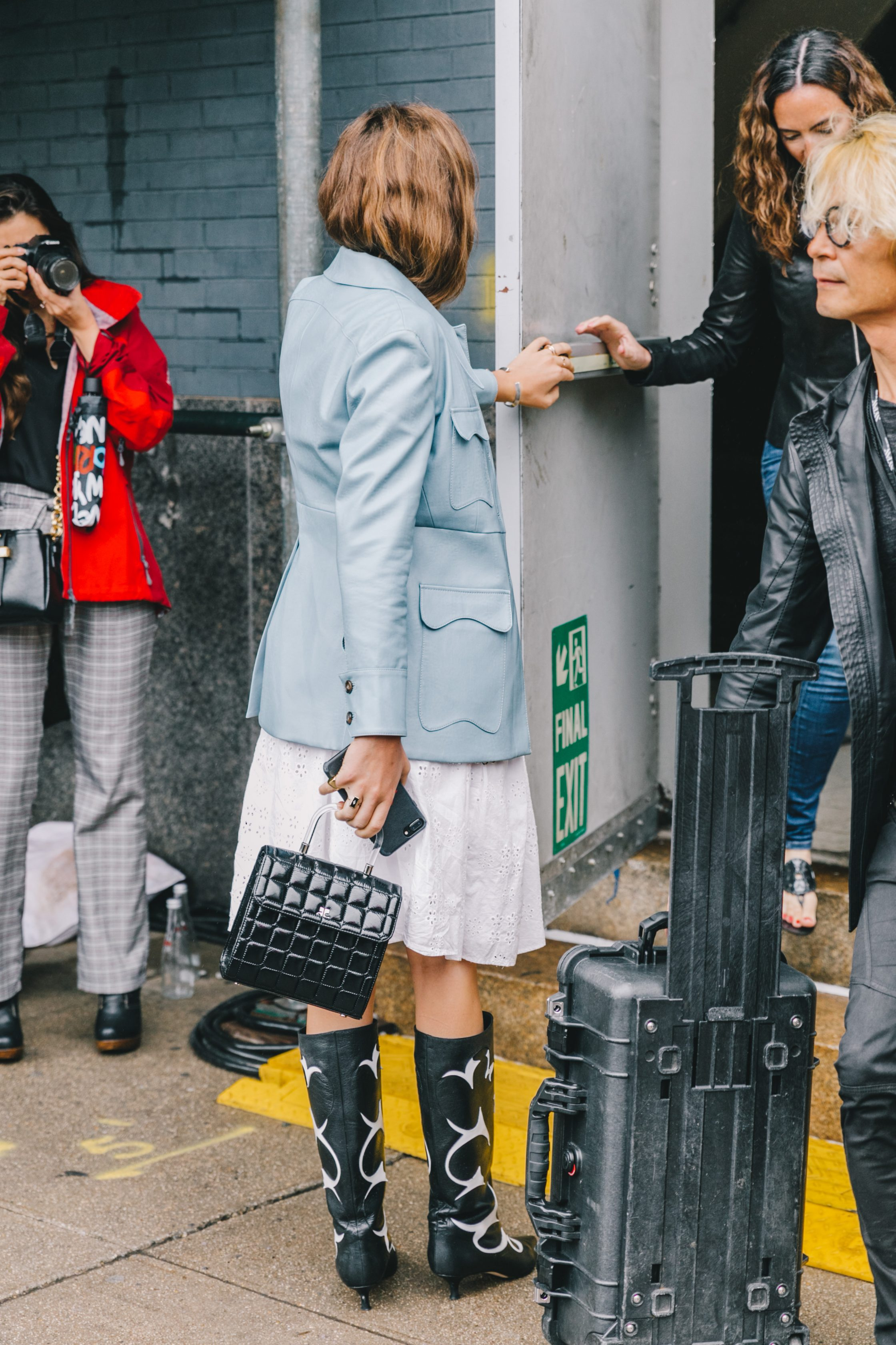 Spring Summer 2019 Street Style from New York Fashion Week by Collage Vintage
