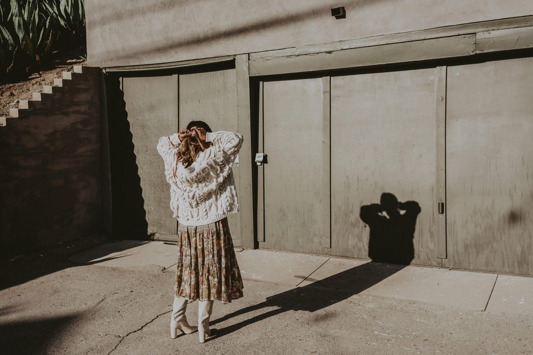 Summer dresses & cozy clothes