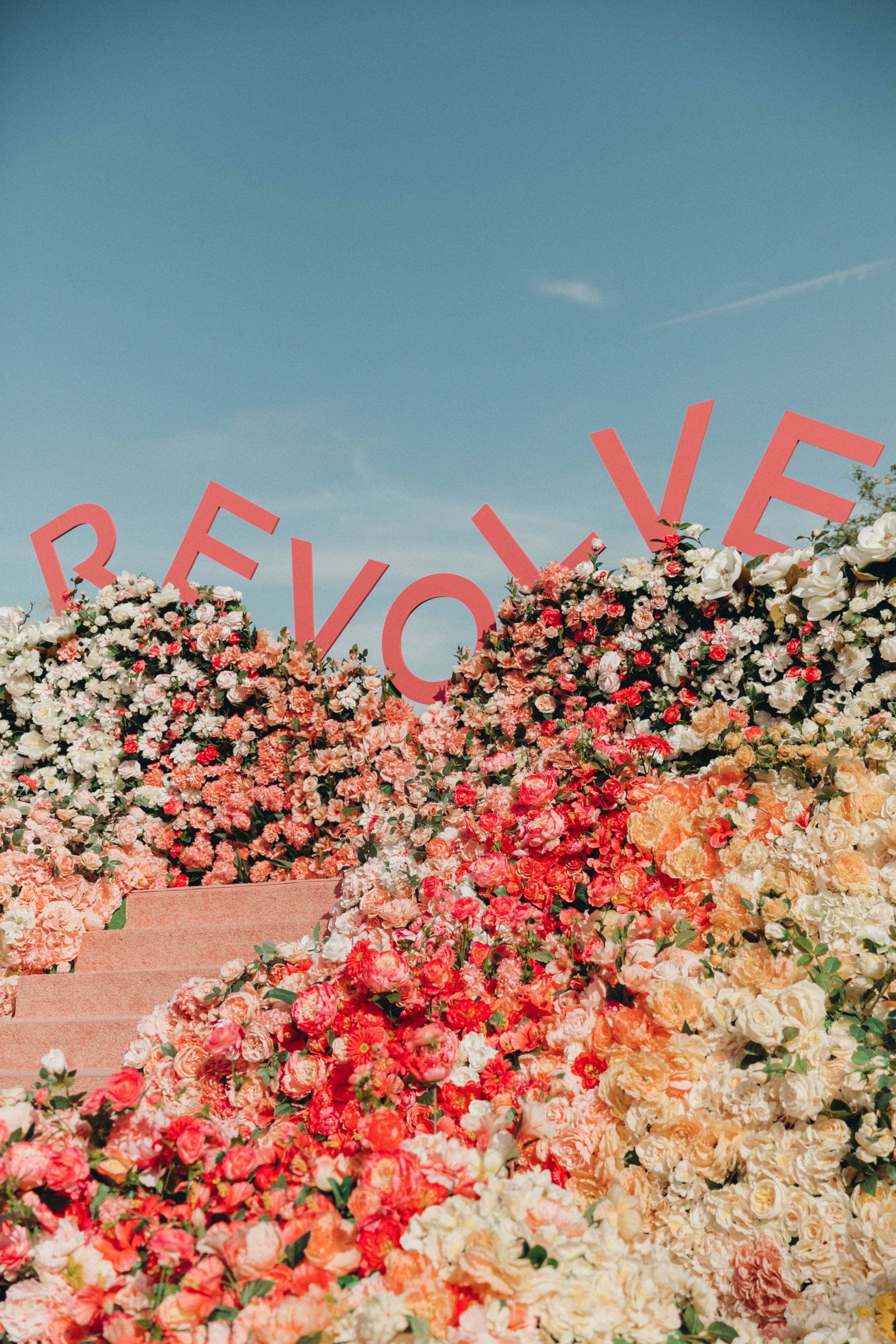 Sara of Collage Vintage at Revolve Festival Spring Summer 2019