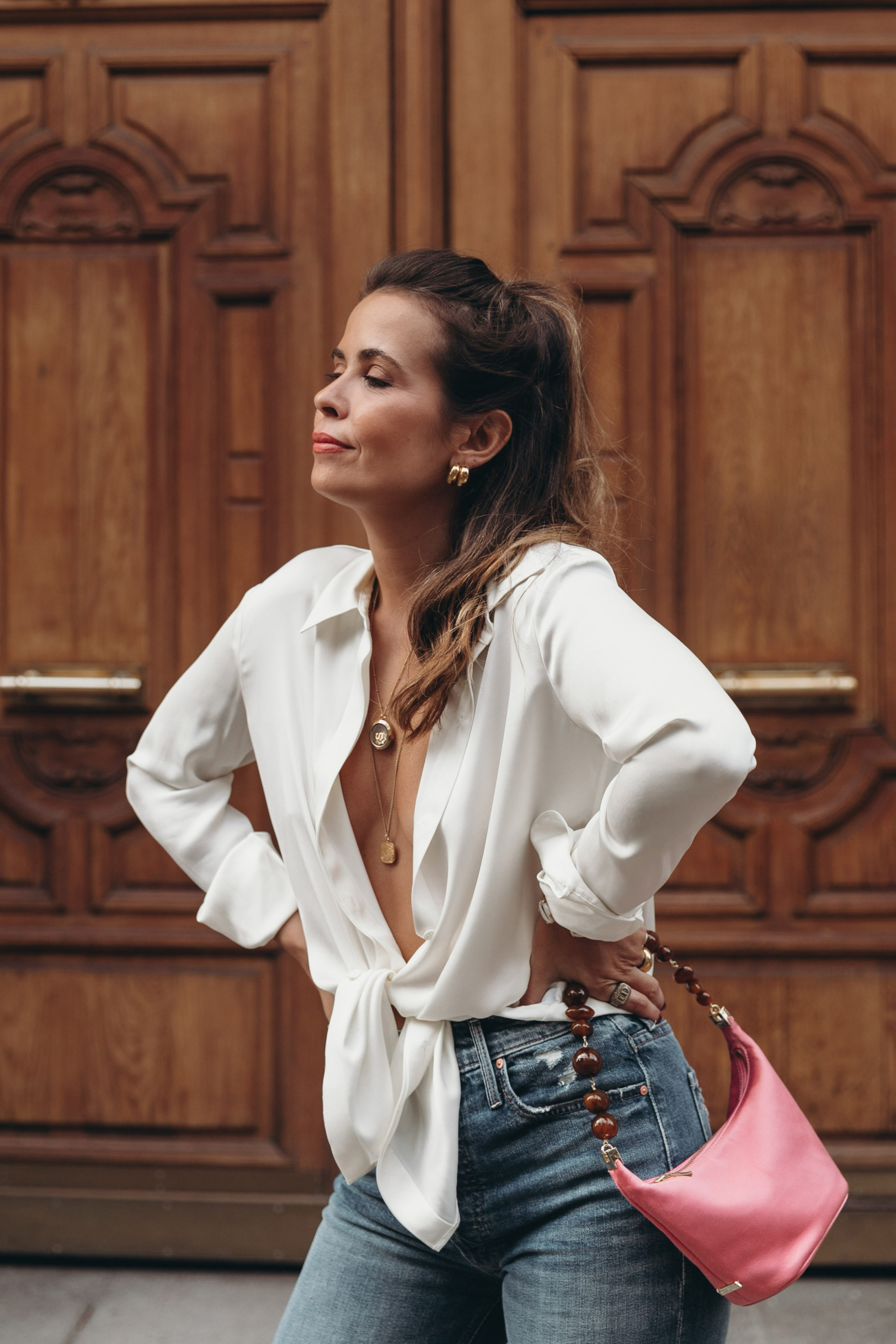 Finding the perfect White Blouse for your wardrobe at Saks Fifth Avenue